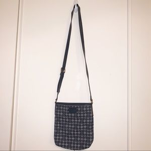 Kate Spade Crossbody Shoulder Bag, Navy Patterned